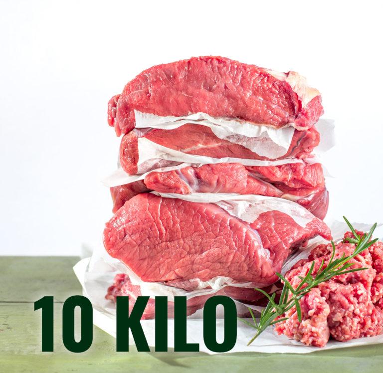 Styria Beef Bio Jungrindfleisch 10 Kilo Mischpaket direkt ab Hof