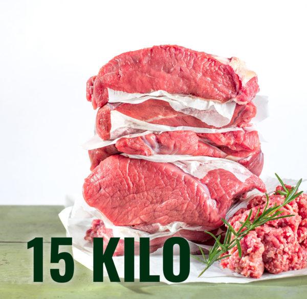 Styria Beef Bio Jungrindfleisch 15 Kilo Mischpaket direkt ab Hof