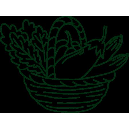 symbolgrafik Gemüsekorb_Gutschein